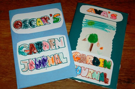 Children's garden journals