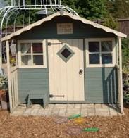 Willow Cottage - a far humbler affair